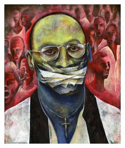 Troy Davis art work