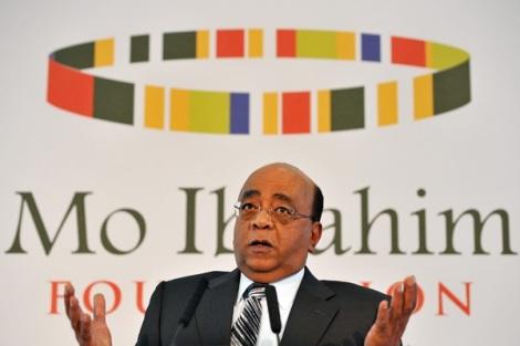 Sudan-born telecom entrepreneur, Mo Ibrahim