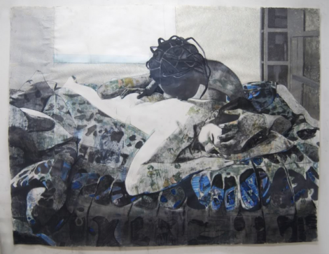 """The Bridge"" by Njideka Akunyili"