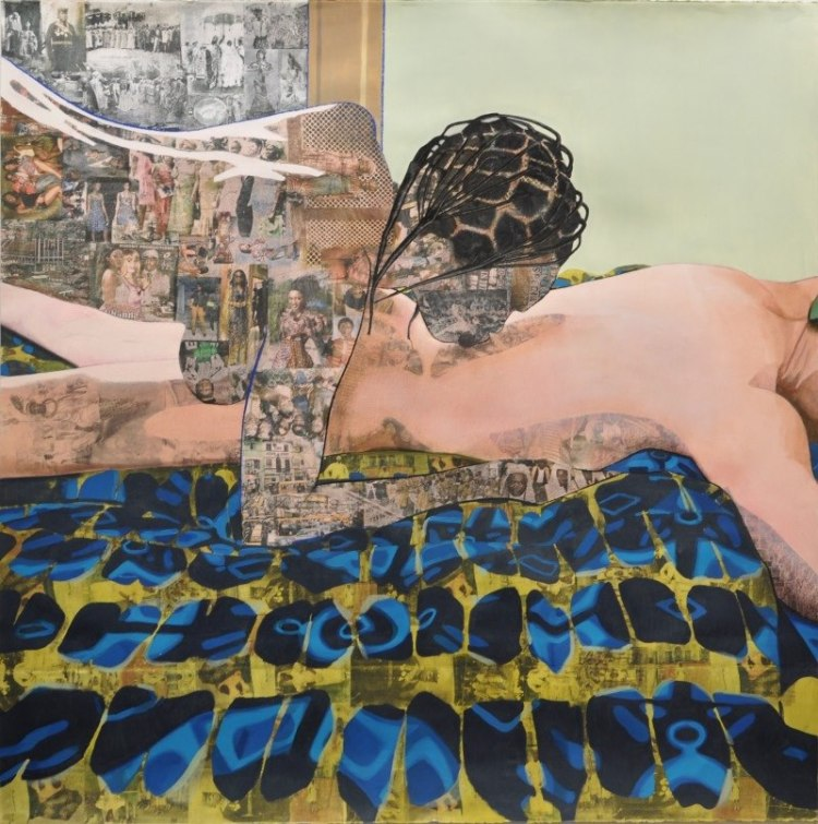 """Thread"" by Njideka Akunyili."