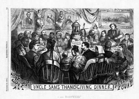 Uncle Sam's Thanksgiving Dinner