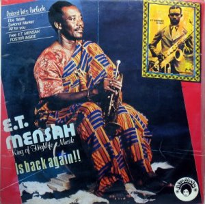 The legenday E.T. Mensah's infusion of America's jazzy big band sound with traditional Ghanaian instruments helped establish highlife as a desirable genre for any African party!