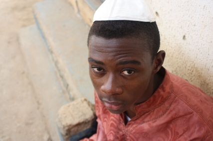 22-year-old Ben Emmanuel learned to read Hebrew Photo by Chika Oduah