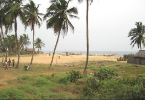 Coast between Ouidah and Cotonou