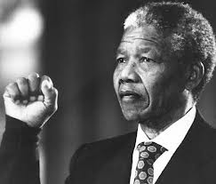 Nelson Mandela, the anti-apartheid activist, was the first black South African to hold the office of the presidency