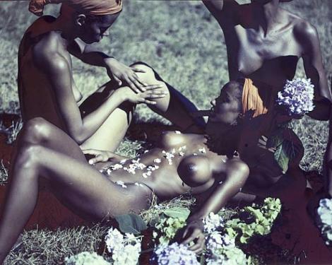 Tumblr black women nude flowers