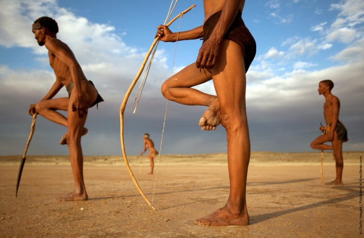 Images of the Bushmen of southern Africa have become so popular that they have become stereotypical presentations of African people
