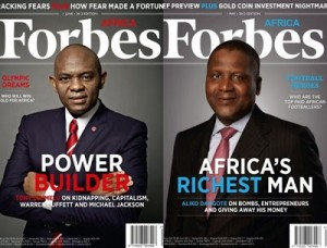 Nigerian business entrepreneurs, Tony Elumelu and Aliko Dangote have promoted capitalism and investment throughout Africa.