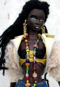 Black doll
