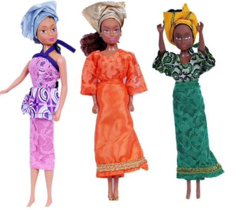 Barbies are no longer the most popular plastic princesses in Nigeria. A black doll line called Queens of Africa is actually outselling Barbie in Nigeria (Africa's most populous country), and the dolls are slowly starting to gain fame in other parts of the world.