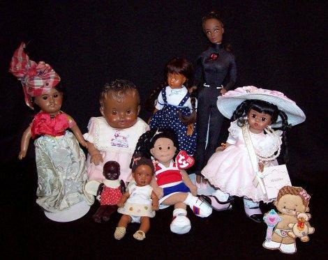 Antique black dolls
