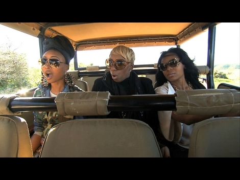 Ladies from the cast of the popular reality tv series, Real Housewives of Atlanta, embark on a safari in South Africa