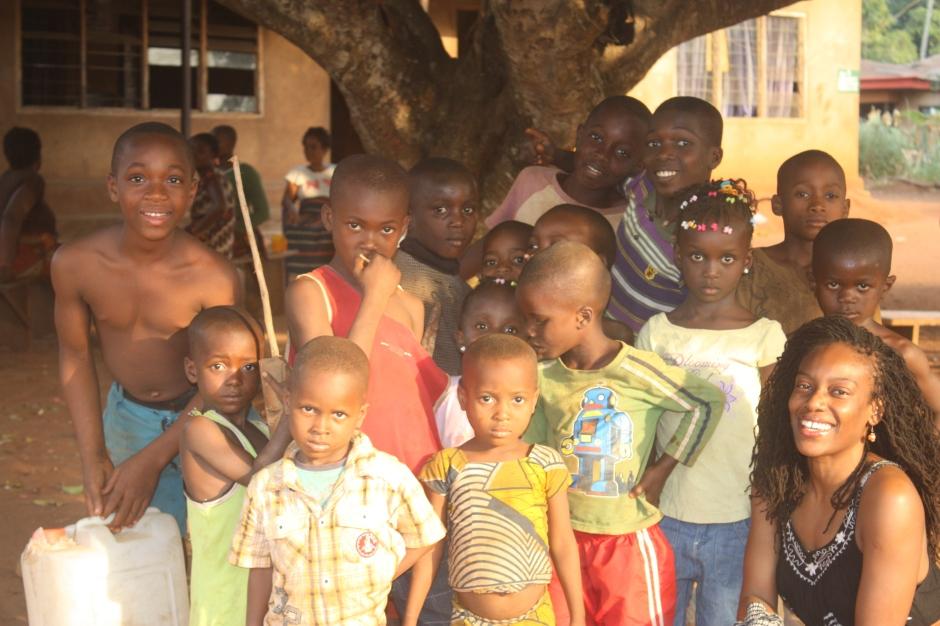 Ok I love kids (southeastern Nigeria)