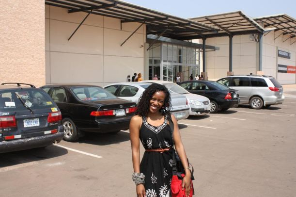 Yes...Africa has modern shopping malls, too