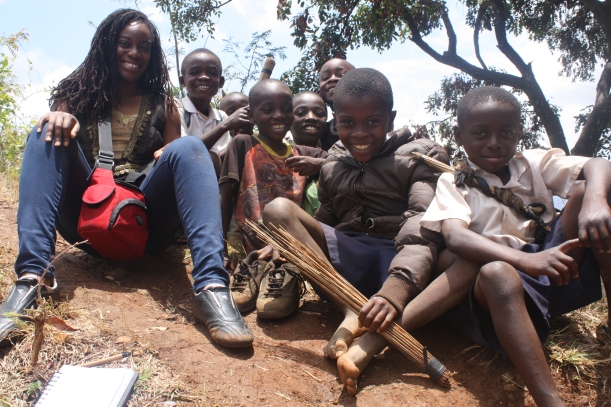 When I decided to join the kids up a slope on the Uluguru Mountains, I didn't think it would be so wonderful! (Morogoro, Tanzania)