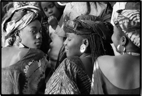 Young Senegalese Women, Dakar, Senegal, 1988 From I Am Because We Are: African Wisdom in Image and Proverb by Betty Press