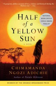 Half of a Yellow Sun, a novel by Chimamanda Adichie