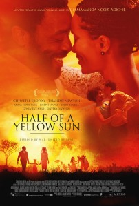 Based off the bestselling book, Half of A Yellow Sun stars Chiwetel Ejiofor and Thandi Newton