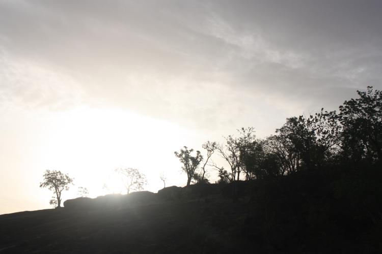 Silhouette Landscape northeast Nigeria