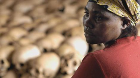 A Rwandan woman reminiscing the dreadful genocide of 1994 which left an estimated one million people.