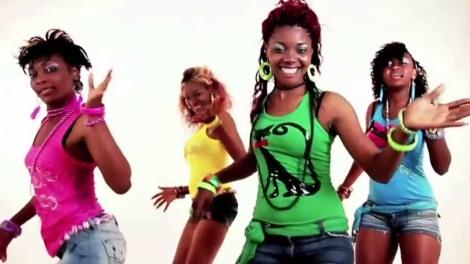 Congolese makossa dancers