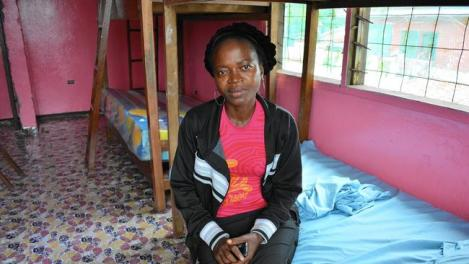 Konah Kupee, who survived Ebola but lost her husband, daughter and other family members to the disease, is determined to help children orphaned by the virus in Liberia. (Robyn Dixon / Los Angeles Times)