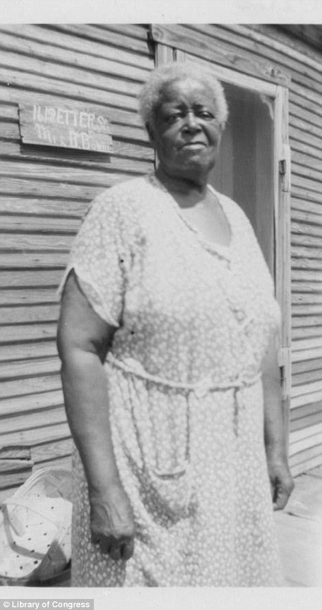 Betty Bormer, ex-slave, Ft. Worth, TX