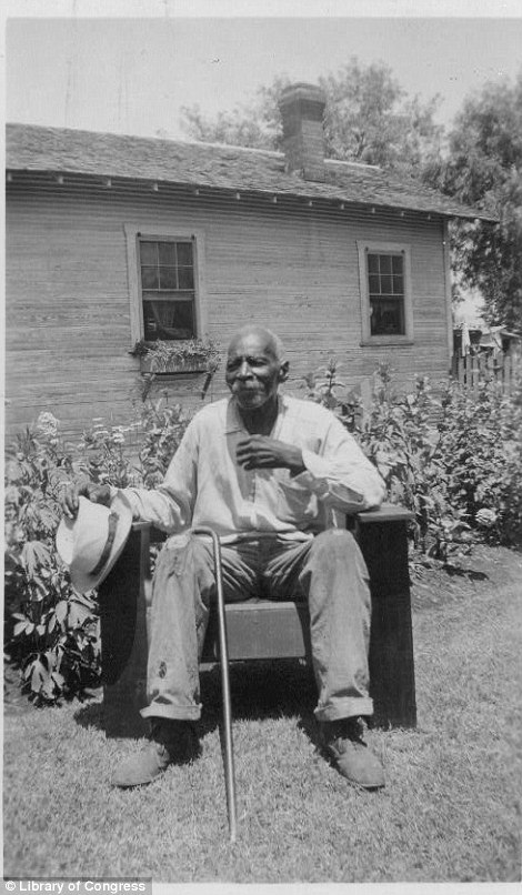 William Green, ex-slave, San Antonio, TX