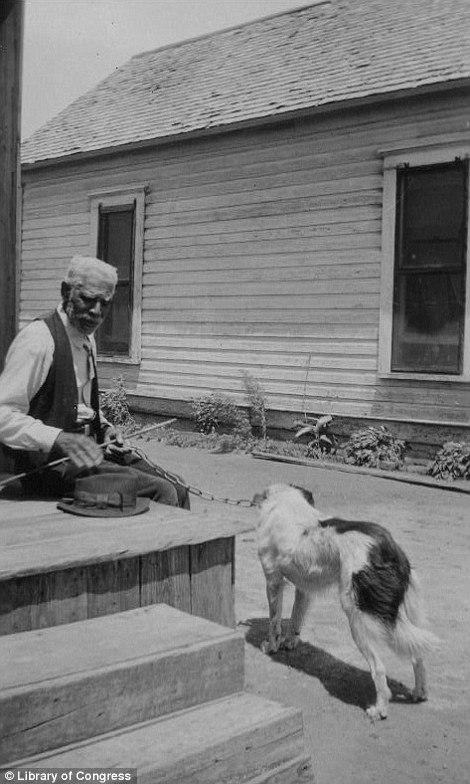 John Barker, ex-slave, Abilene, TX