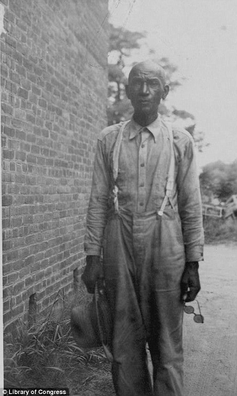 James Singleton Black, ex-slave, 83-years-old