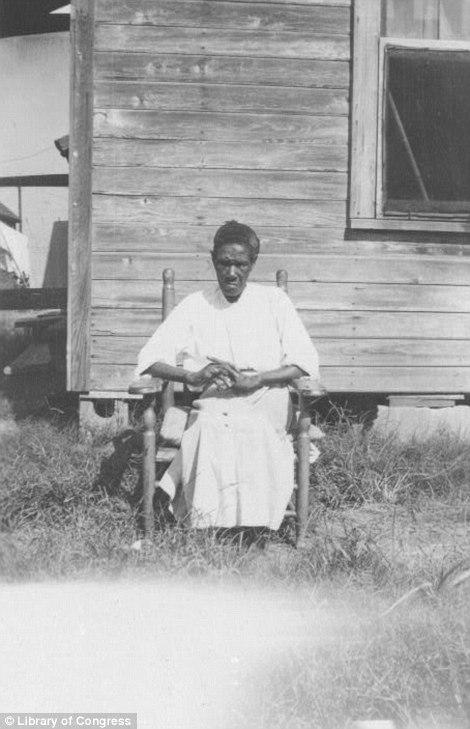 Clara Brim, ex-slave, Beaumont, Tx