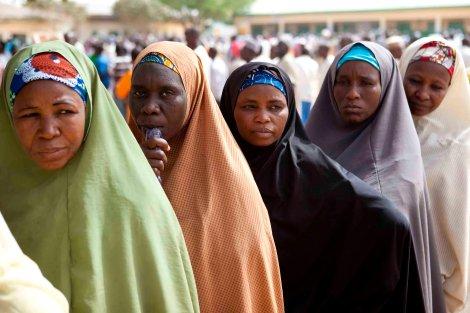 women Nigeria 1 voting 2011