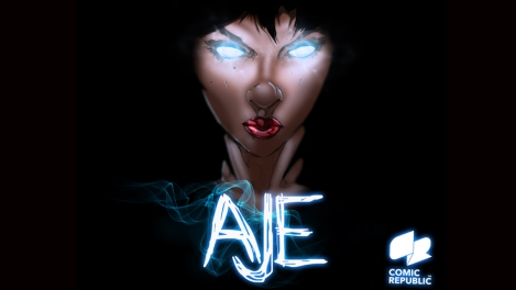 "This is the ""witch,"" from the Aje comic book series, created by Nigerians. www.thecomicrepublic.com"