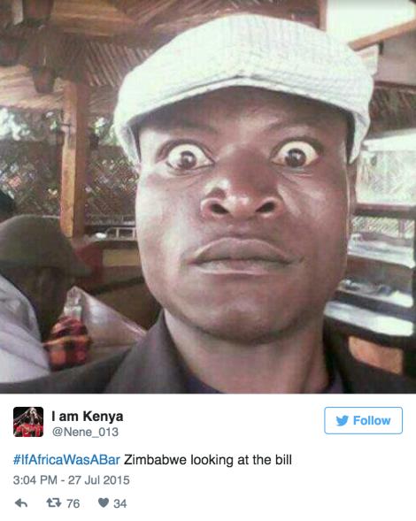 IfAfricaBar Zimbabwe 2