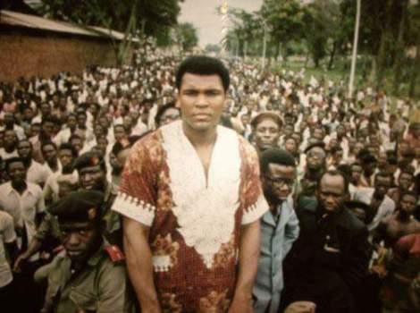 Muhammad Ali in Zaire in 1974