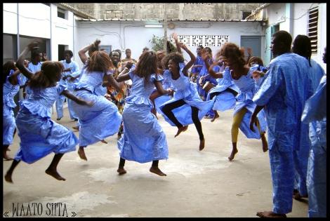 Sabar dancers