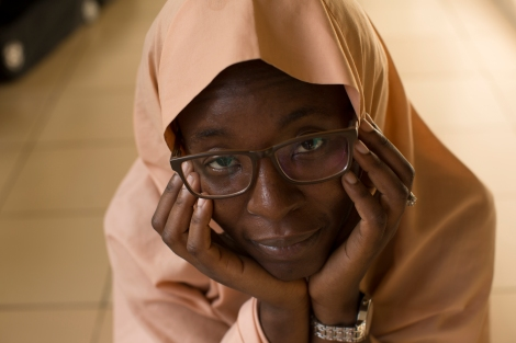 Azeenarh Mohammed, a resident of Abuja Nigeria, grew up wearing the hijab. She describes herself as a strong believer in Islam as well as queer. Photo by Chika Oduah. November 23, 2016. ABUJA, NIGERIA